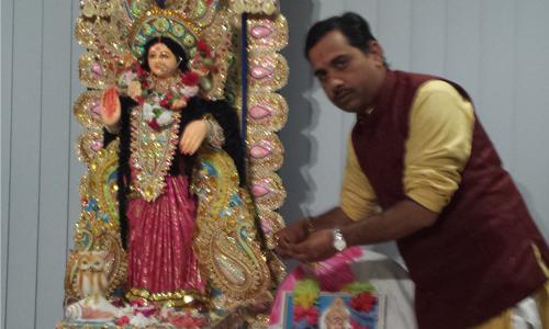 Durga-Puja-by Hindu-Priest-Acharya-Prem_Bhatt-in- Melbourne